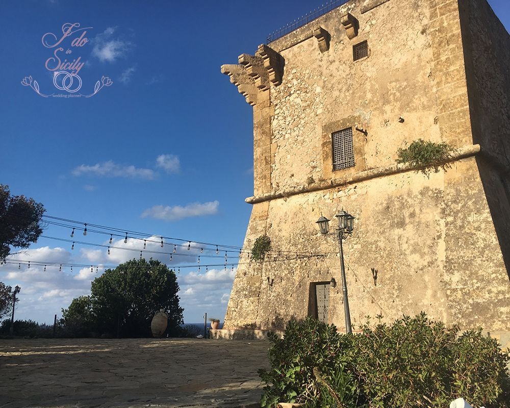 La Torre venue for your marriage in Sicily
